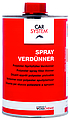 Spray verdunner 1ltr blik