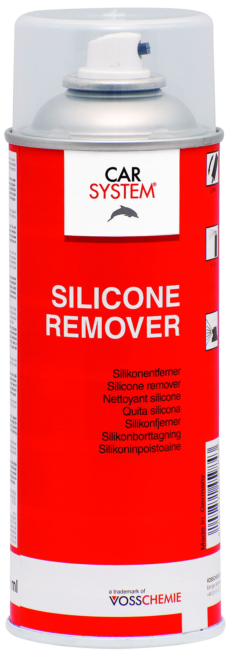 Siliconen Remover Spray 400ml.