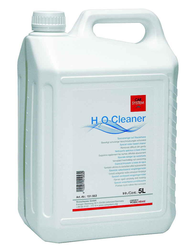 H2O Cleaner 5l. Schoonmaakster