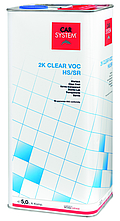 2K Clear VOC HS / SR Harder fast 2.5L